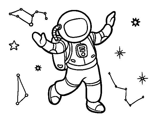 Imagenes De Astronautas Para Nios. Good Casco De Astronauta Dibujo ...