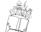 Dibujo de Un cuento en la ciudad
