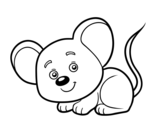 Dibujo de Un ratoncito para colorear