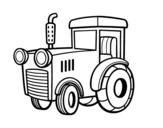 Dibujo de Un tractor para colorear