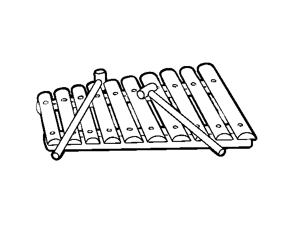 dibujo de un xil u00f3fono para colorear dibujos net grand piano clip art grand piano clip art