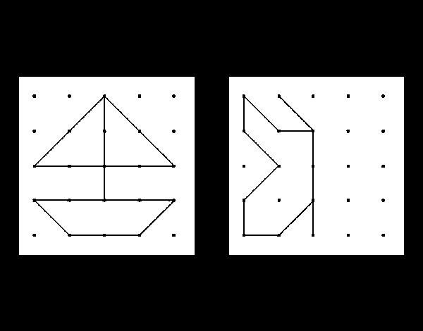 Dibujo de Unir puntos para Colorear