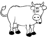 Dibujo de Vaca 6