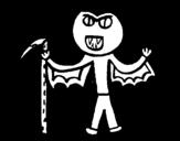 Dibujo de Vampiro