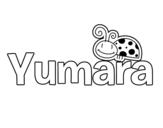 Dibujo de Yumara para colorear