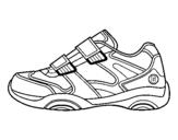 Dibujo de Zapatilla 1 para colorear