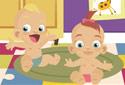 Jugar a Bebés mellizos de la categoría Juegos de niñas