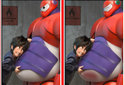 Diferencias Big Hero 6