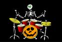 El esqueleto más rockero