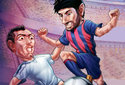 Futbolistas cabezones
