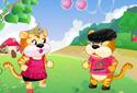 Jugar a Pareja de tigres de la categoría Juegos de niñas