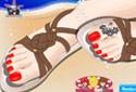 Jugar a Sandalias veraniegas de la categoría Juegos de niñas