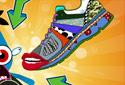 Jugar a Tus zapatillas a la moda de la categoría Juegos de habilidad