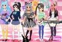Jugar a Vestir a grupo de rock de la categoría Juegos de niñas