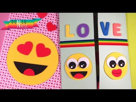Tarjeta de San Valentín Emojis