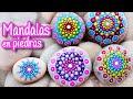 Manualidad Mandalas en Piedras