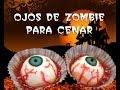 Ojos sangrientos para comer en Halloween