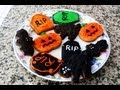 Receta de Galletas de Chocolate para Halloween