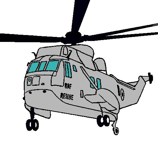 Dibujo de Helicóptero al rescate pintado por Alex en Dibujos.net el ...