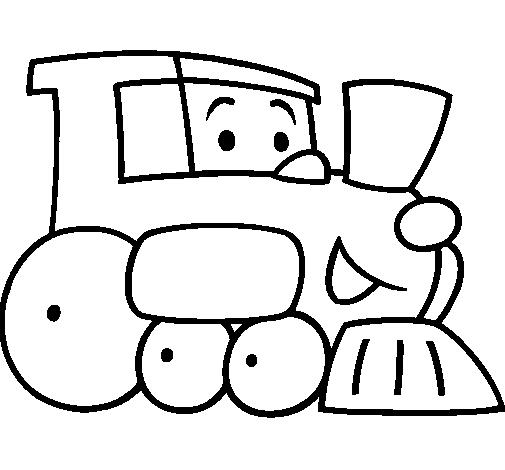 Dibujo de Tren pintado por Tamara en Dibujos.net el día 18-08-10 a ...