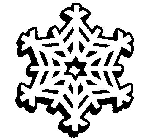 Dibujo de Copo de nieve pintado por Carol en Dibujos.net el día 30 ...