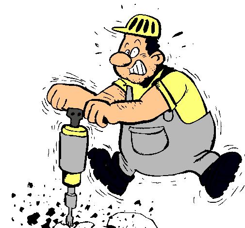 Dibujo De Obrero Pintado Por Minero En Dibujosnet El Día 21