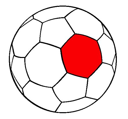 Dibujo de Pelota de fútbol II pintado por Sudafrica en Dibujos.net ...