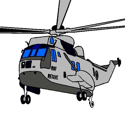 Dibujo de Helicóptero al rescate pintado por Sergio en Dibujos.net ...