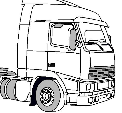 Dibujo de Camión pintado por Ford en Dibujos.net el día 29-09-10 a ...