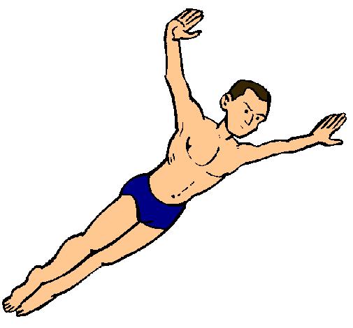 Dibujo de Salto pintado por Natacion en Dibujos.net el día 16-10-10 ...