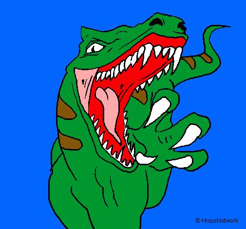 Dibujo De Velociraptor Ii Pintado Por Godzilla En Dibujosnet El Día