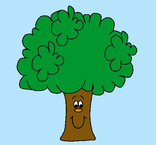 Dibujo De Brócoli Pintado Por Arbol En Dibujosnet El Día 24 10 10 A