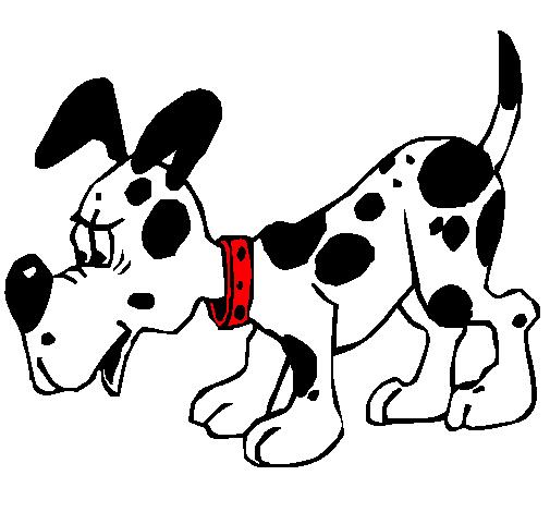 Dibujo de Perro pintado por Dalmata en Dibujos.net el día 20-10-10 a ...