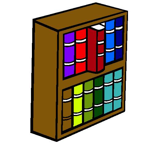 Dibujo De Libreria Pintado Por Gigi En Dibujos Net El Dia 29 10 10 A