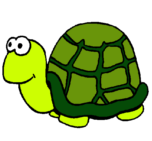 Dibujo De Tortuga Pintado Por Tortuga En Dibujosnet El Día 13 11 10