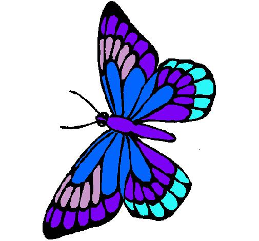 dibujo de mariposa pintado por mariposa en dibujos net el día 19 11