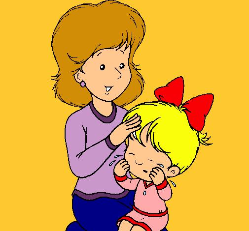 Dibujo De Madre Pintado Por Mama En Dibujosnet El Día 18 11 10 A