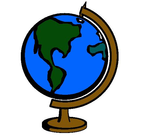 Dibujo De Bola Del Mundo Ii Pintado Por Mundo En Dibujosnet El Día