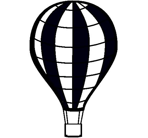 Dibujo De Globo Aerostático Pintado Por Siul En Dibujosnet El Día