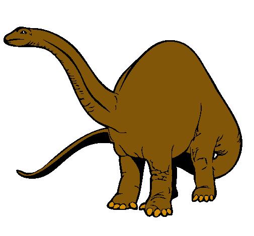 Dibujo De Braquiosaurio Ii Pintado Por Godzilla En Dibujos