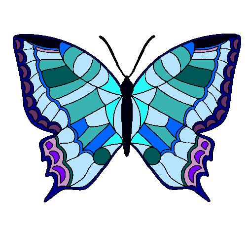 Dibujo De Mariposa Pintado Por Mariposa En Dibujosnet El Día 13 12