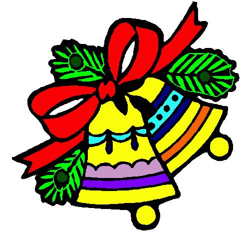 Dibujo de campanas de navidad pintado por campanita en dibujos campanas de navidad altavistaventures Choice Image