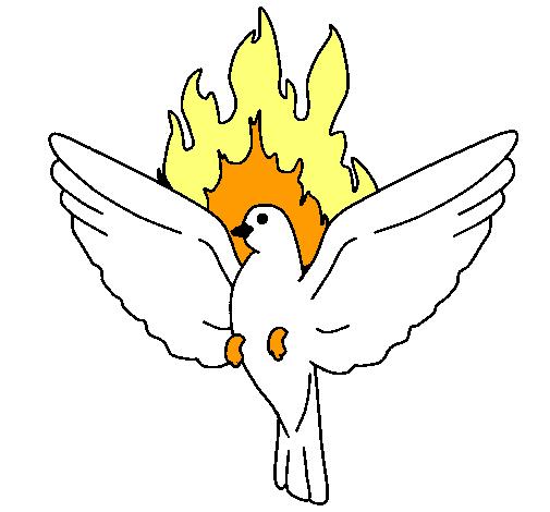 Dibujo De Paloma Pentecostal Pintado Por Nour En Dibujosnet El Día