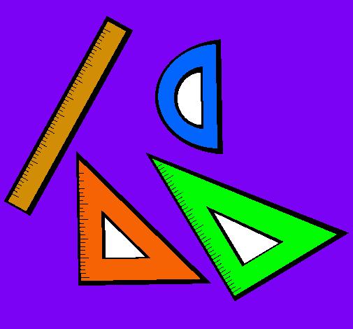 Dibujo De Reglas Pintado Por Geometria En Dibujosnet El Día 08 01