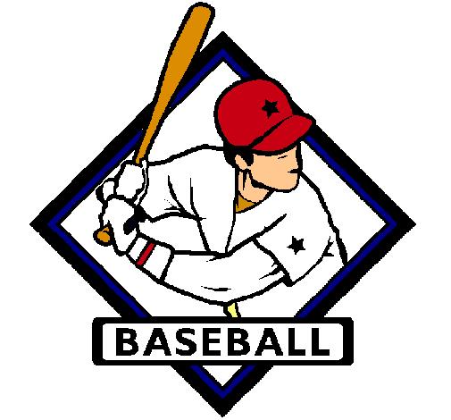 Dibujo de Logo de béisbol pintado por Jugador en Dibujos.net el día ...