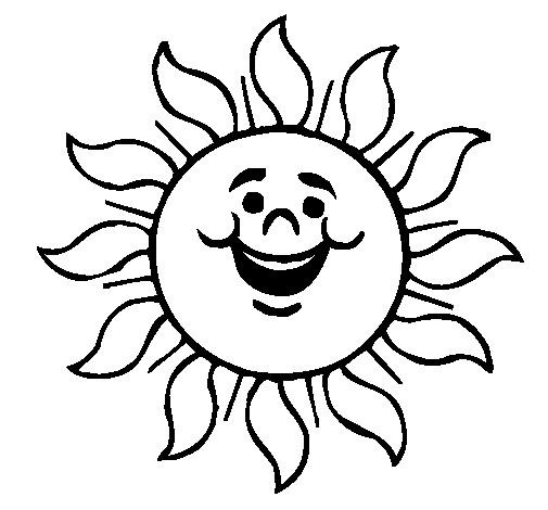 Dibujo De Sol Contento Pintado Por Winnie En Dibujosnet El Día 17