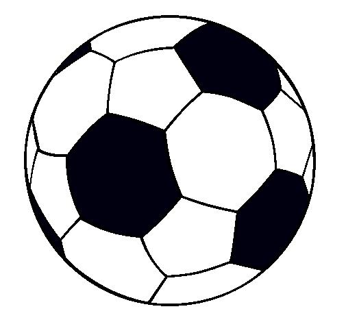 Dibujo de Pelota de fútbol II pintado por Mati en Dibujos.net el día ...