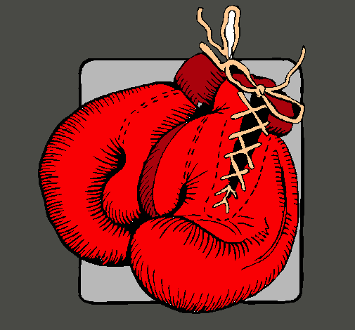 Dibujo De Guantes De Boxeo Pintado Por Maysla En Dibujos Net El