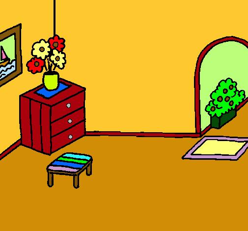 Dibujo De Casa Por Dentro Pintado Por Franyer En Dibujosnet El Día