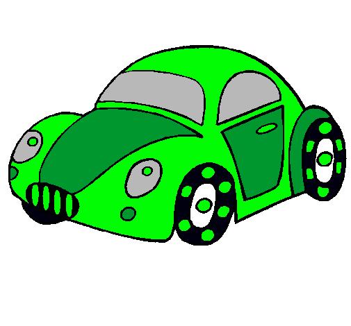 Dibujo De Coche De Juguete Pintado Por Carro En Dibujos Net El Dia